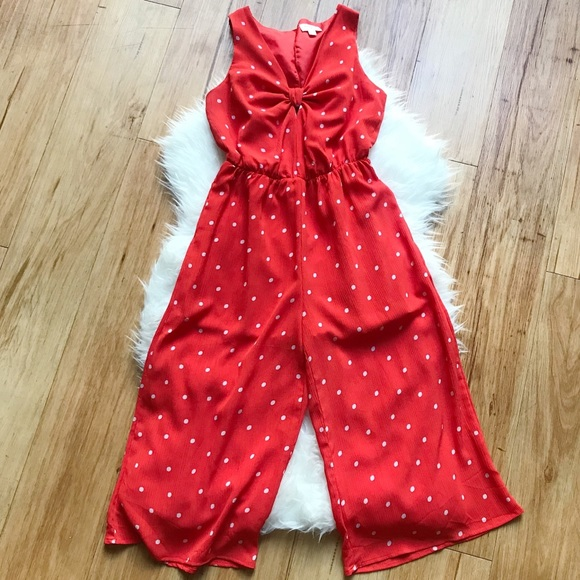 f6470db44c3 Everly Pants - Everly Stitch Fix red polka dot wide leg jumpsuit